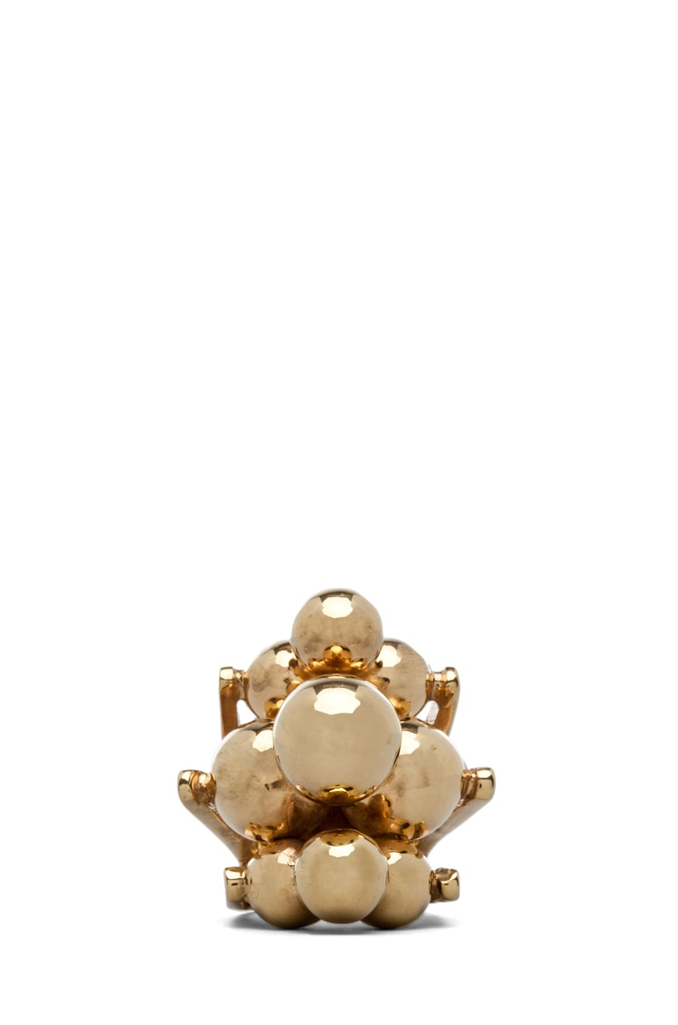 Image 1 of Kelly Wearstler Cluster Ring Plated Brass in Gold
