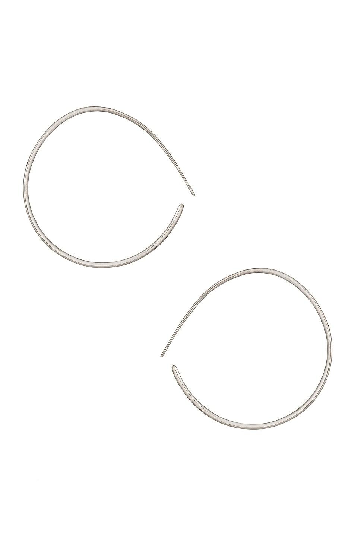 Image 1 of KHIRY Layana Hoop Earrings in Silver