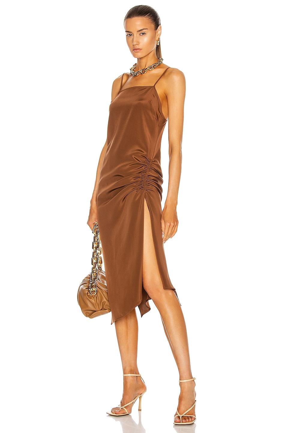 Image 1 of KENDRA DUPLANTIER Maris Dress in Brown