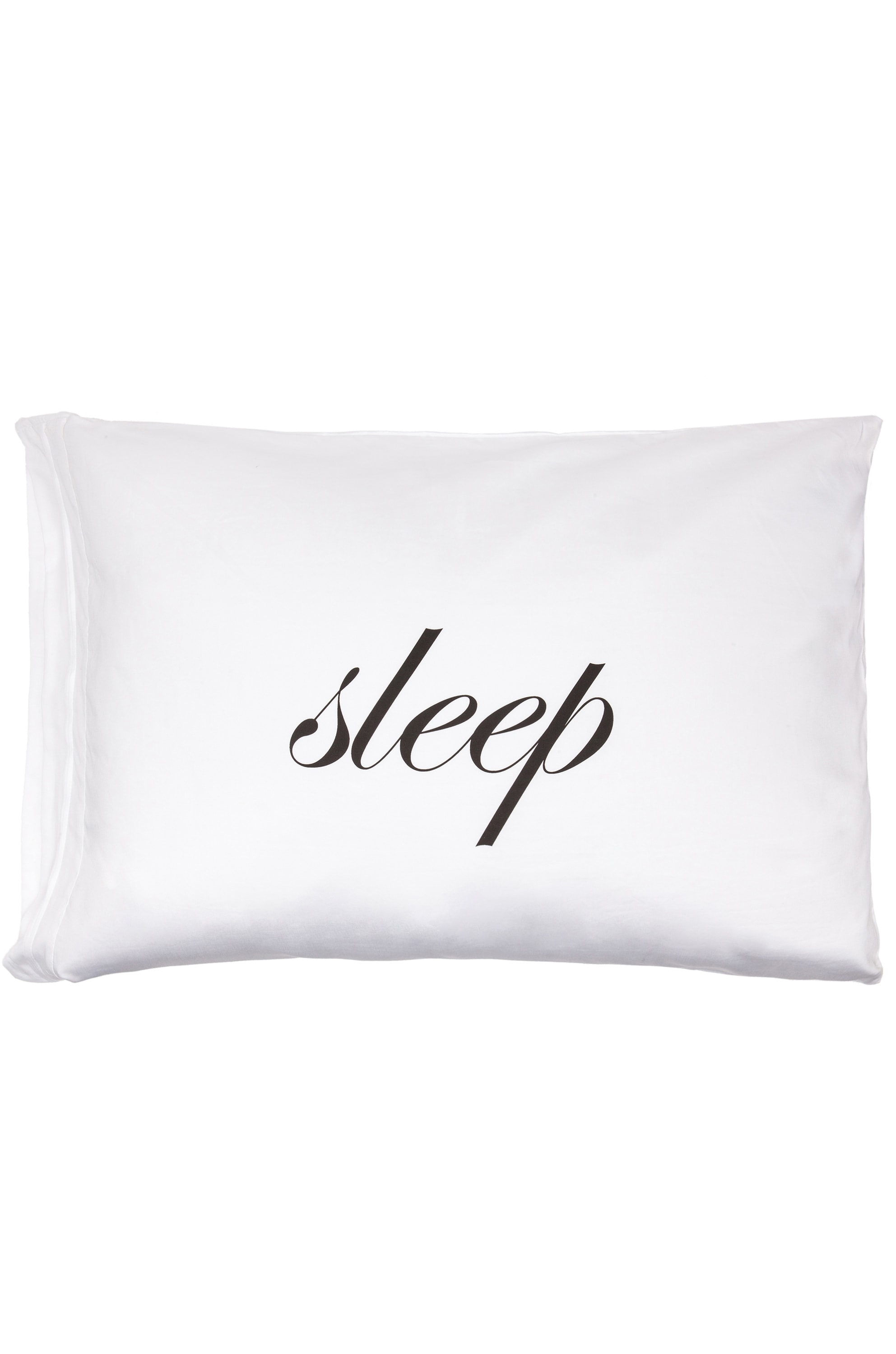Image 1 of Kiki de Montparnasse Sleep/Fuck Standard Pillowcase Set in White