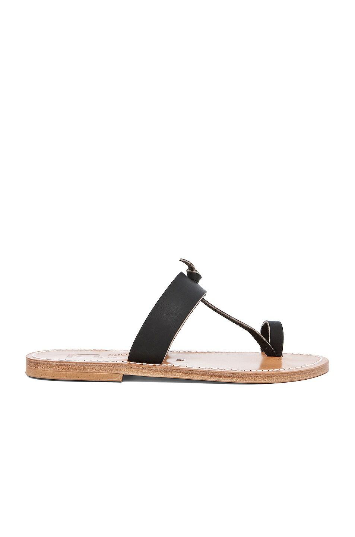 Image 1 of K Jacques Ganges Slip On Sandals in Black