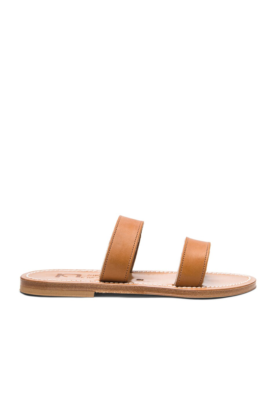 Image 1 of K Jacques Bagatel Leather Sandals in Natural
