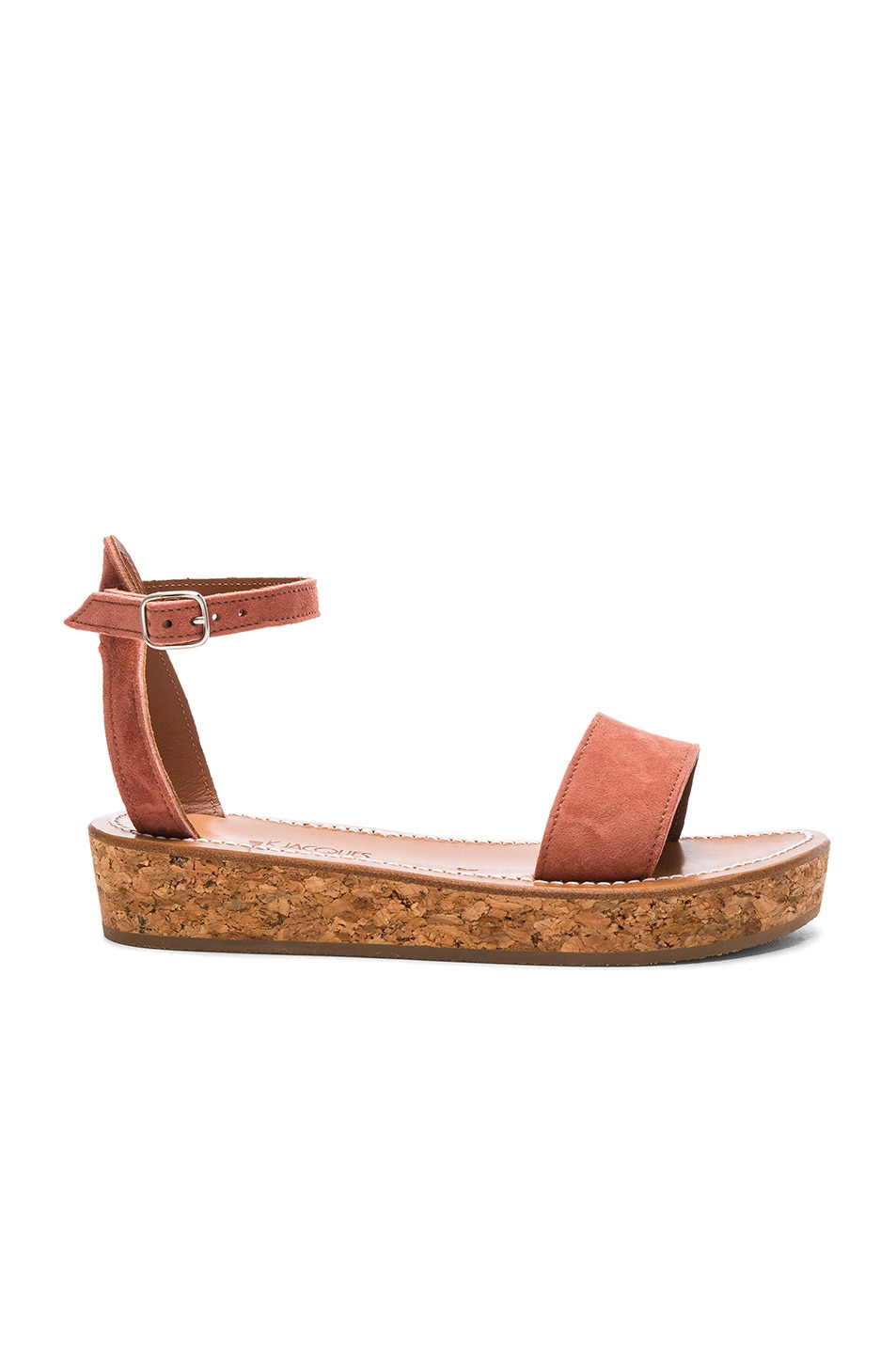 Image 1 of K Jacques Suede Thalloire Sandals in Suede Gilly