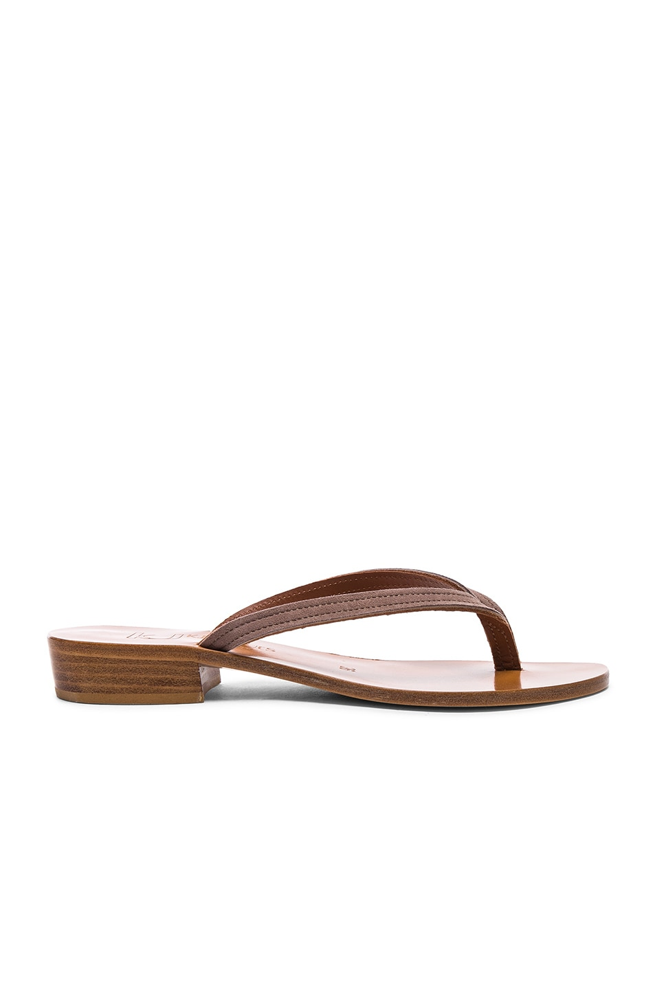 Image 1 of K Jacques Prato Sandals in Velours Amande