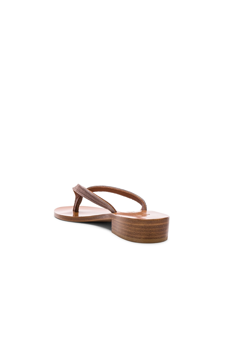 Image 3 of K Jacques Prato Sandals in Velours Amande