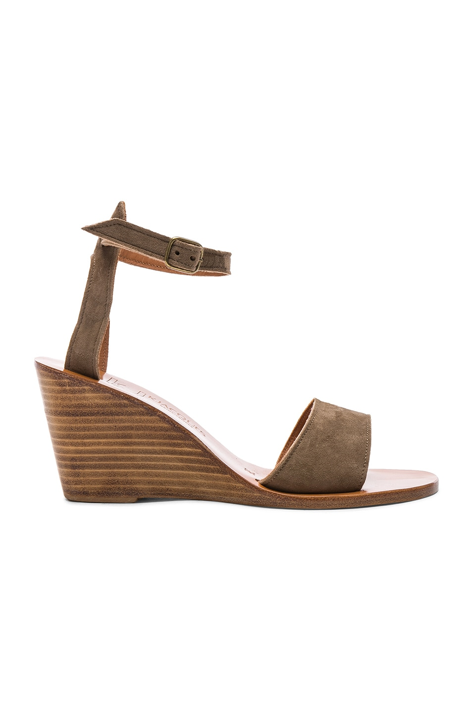 Image 1 of K Jacques Sardaigne Wedges in Velours Fomgo
