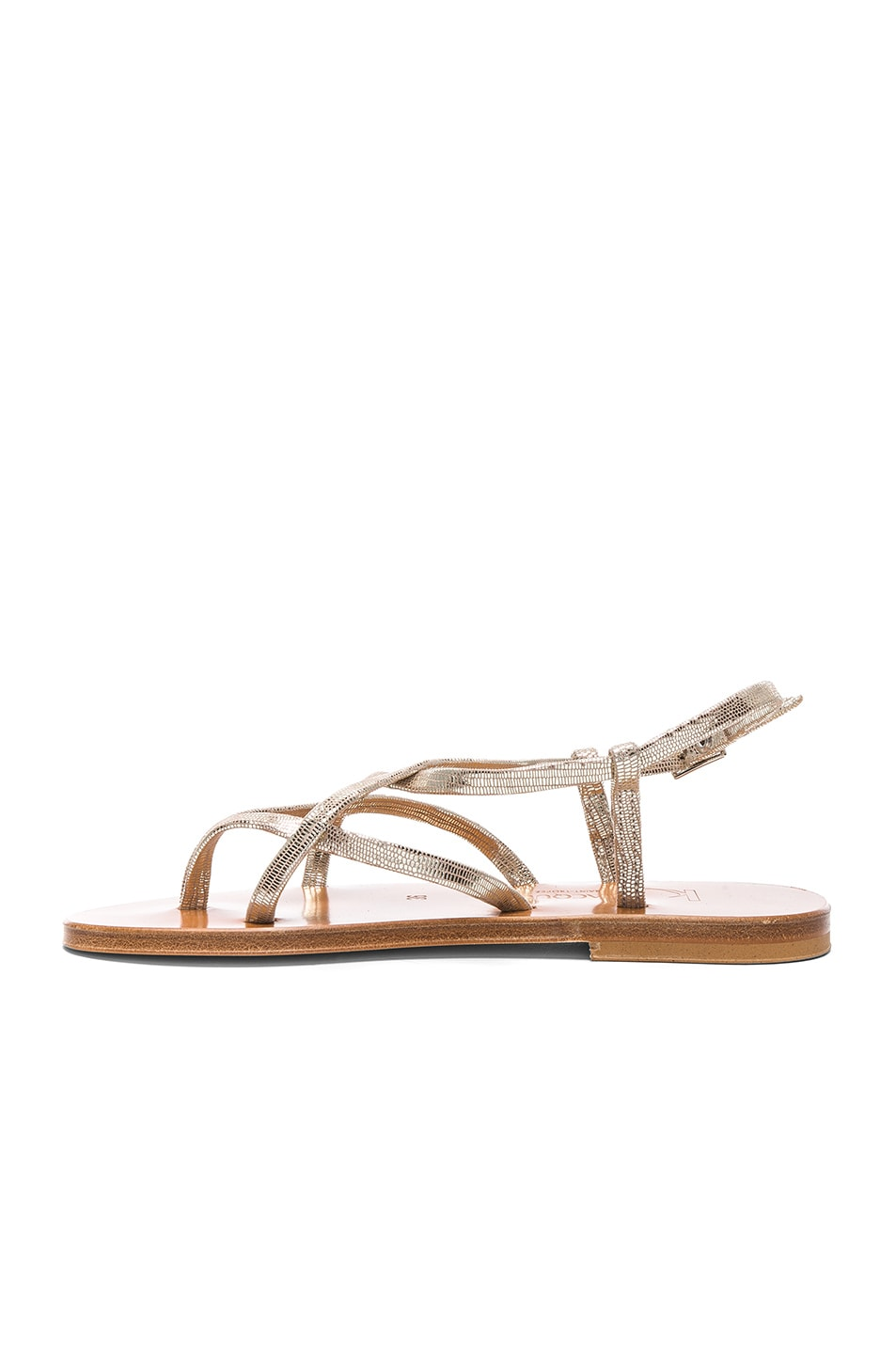 Image 5 of K Jacques Blueut Sandals in Disco Platine
