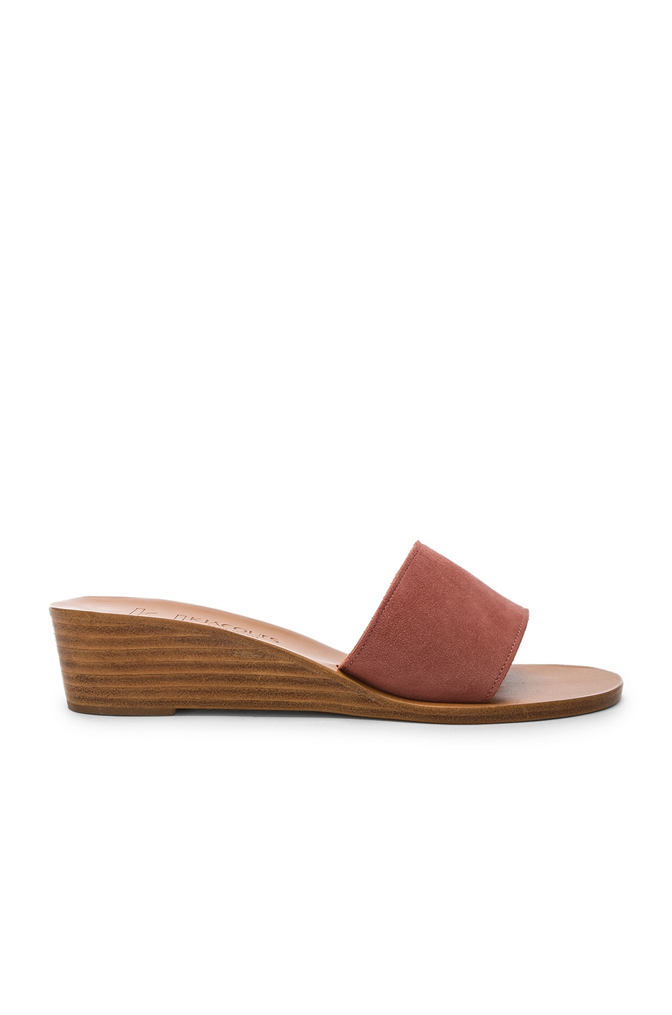 Image 1 of K Jacques Perla Wedge in Rose Dawn