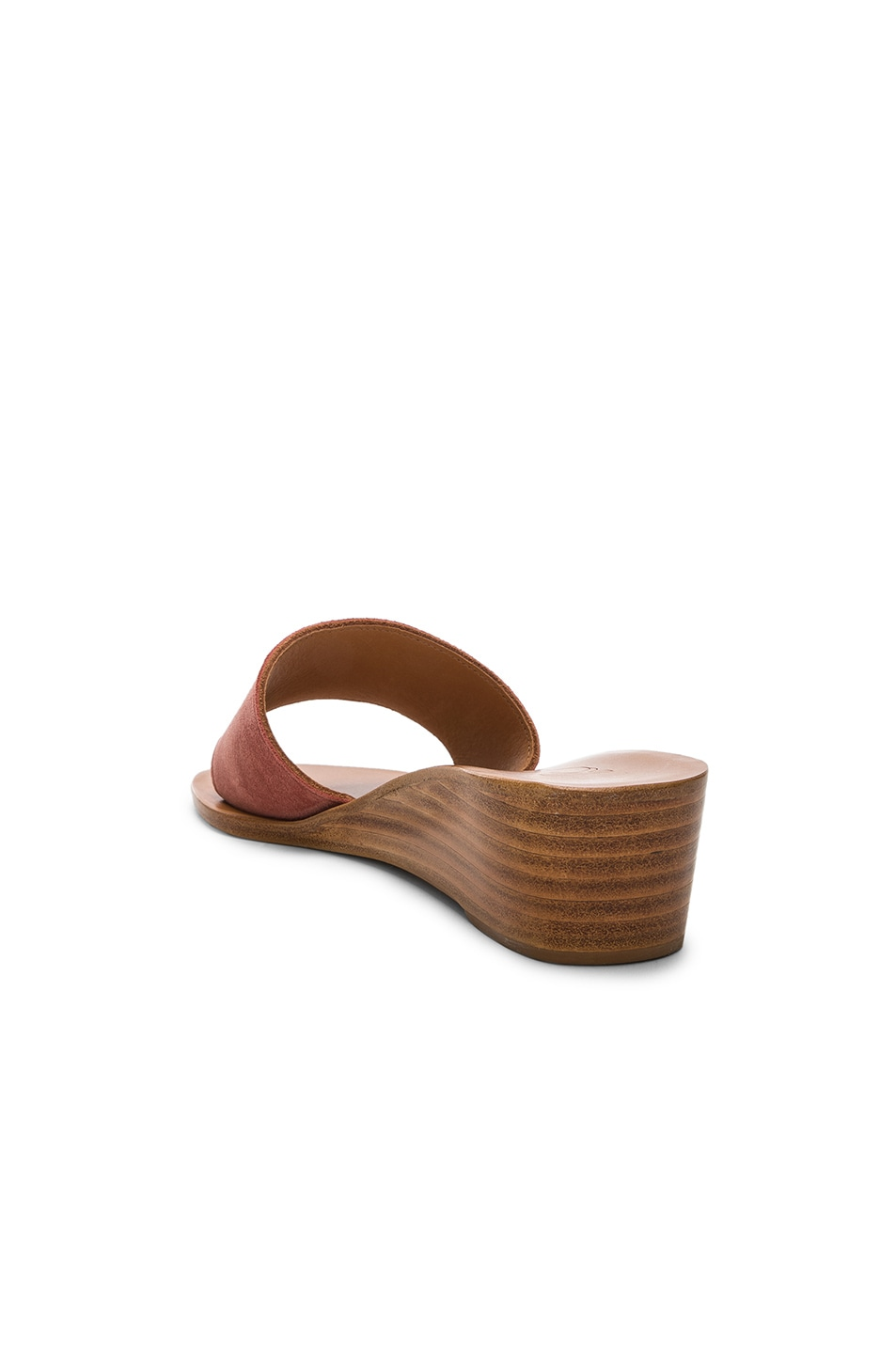 Image 3 of K Jacques Perla Wedge in Rose Dawn