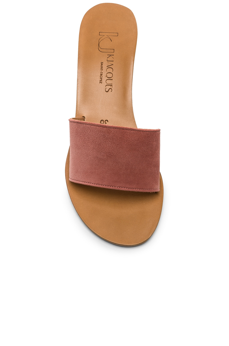 Image 4 of K Jacques Perla Wedge in Rose Dawn