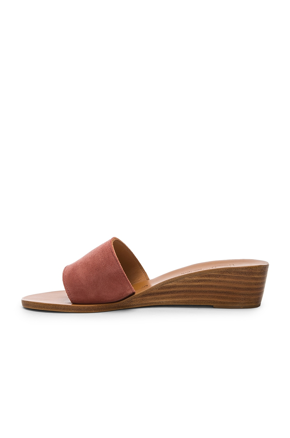 Image 5 of K Jacques Perla Wedge in Rose Dawn