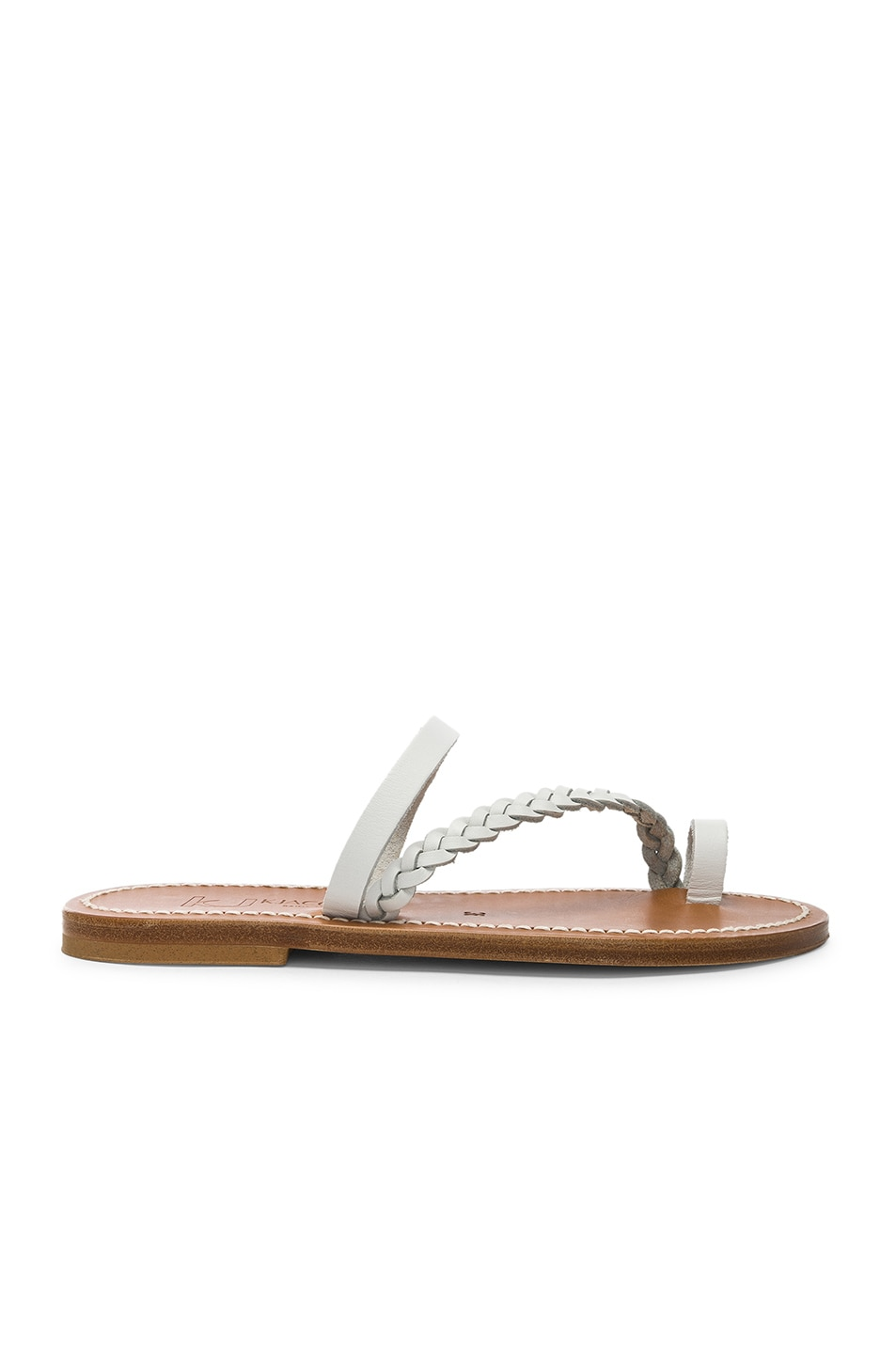 Image 1 of K Jacques Isaure Sandal in Pul Blanc