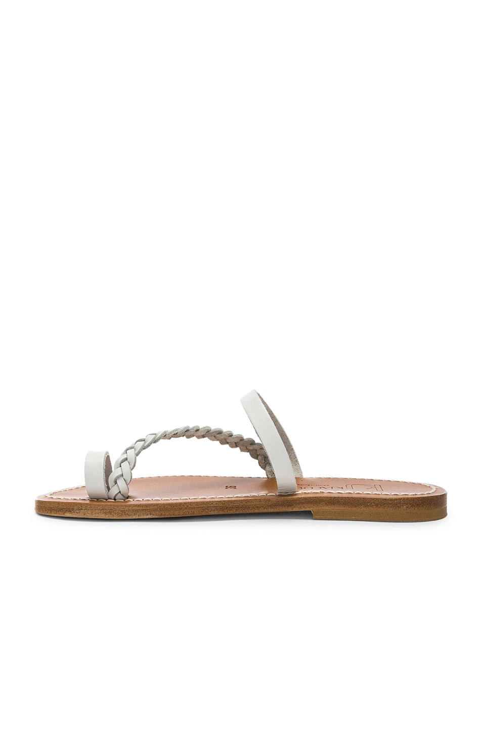 Image 5 of K Jacques Isaure Sandal in Pul Blanc