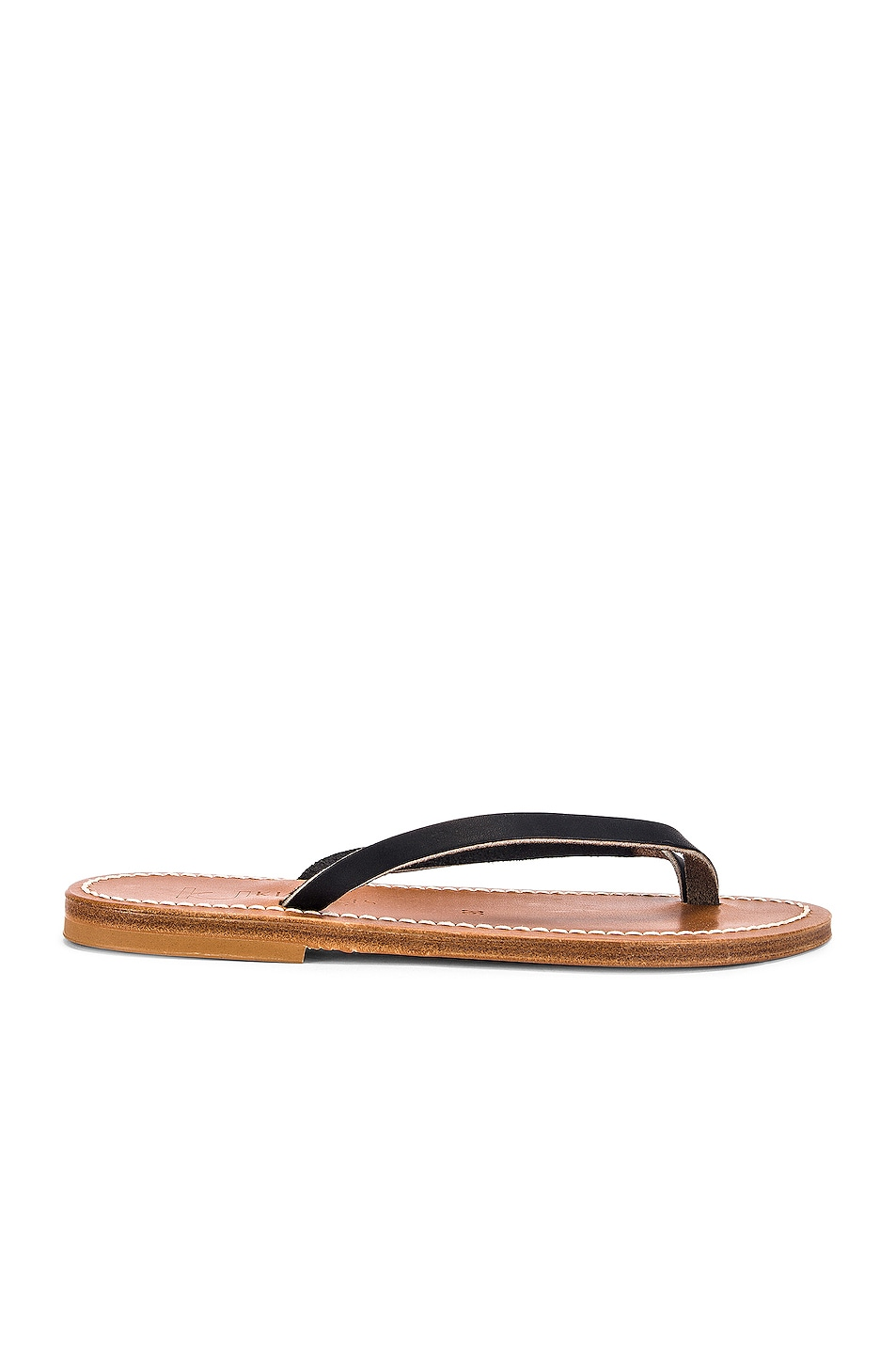 Image 1 of K Jacques Venise Sandal in Pul Noir