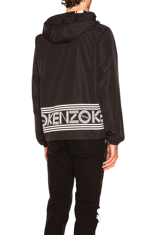 b2e27f8b Kenzo Reversible Nylon Jacket in Black | FWRD