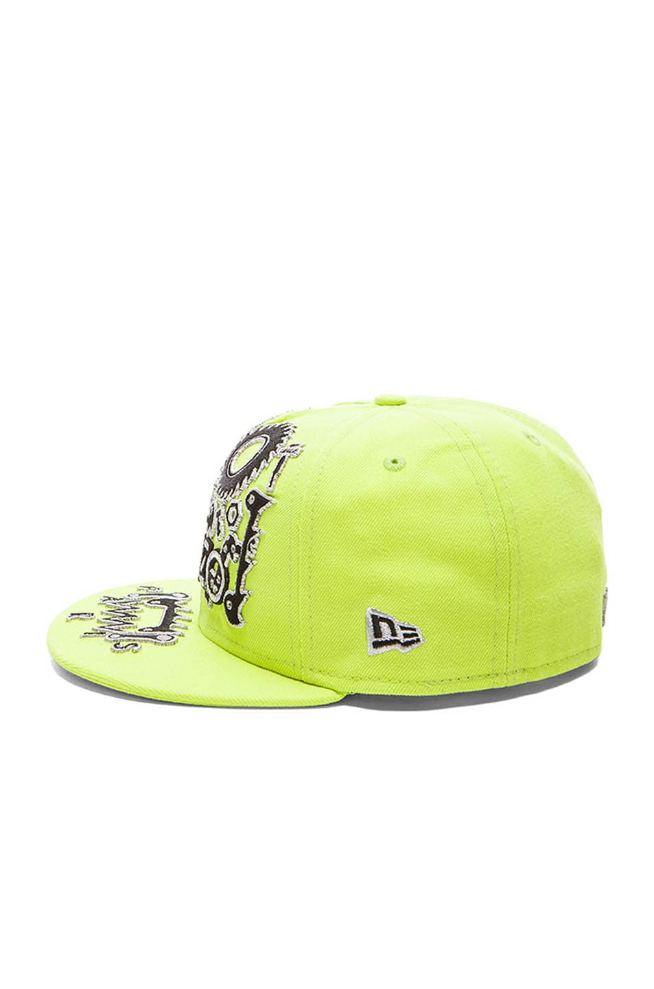 db29e271fcf Image 3 of Kenzo x New Era Monster Embroidery Cap in Green