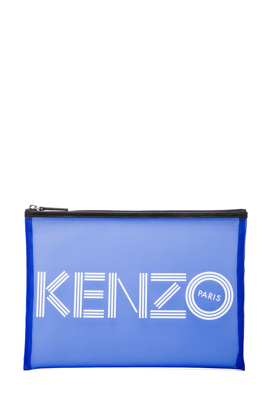 Image 1 of KENZO Big Pouch in Blue