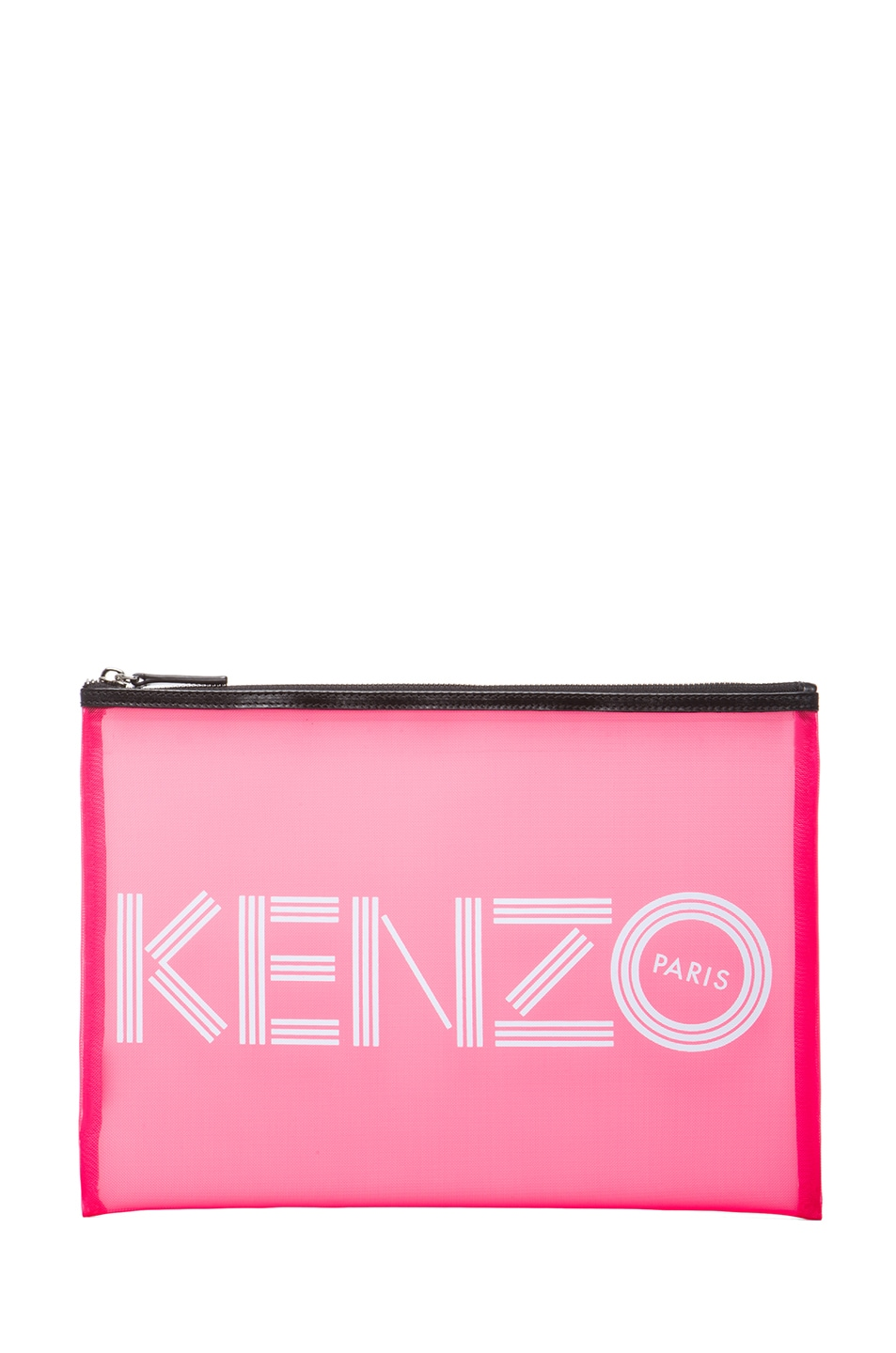 Image 1 of KENZO Big Pouch in Pink