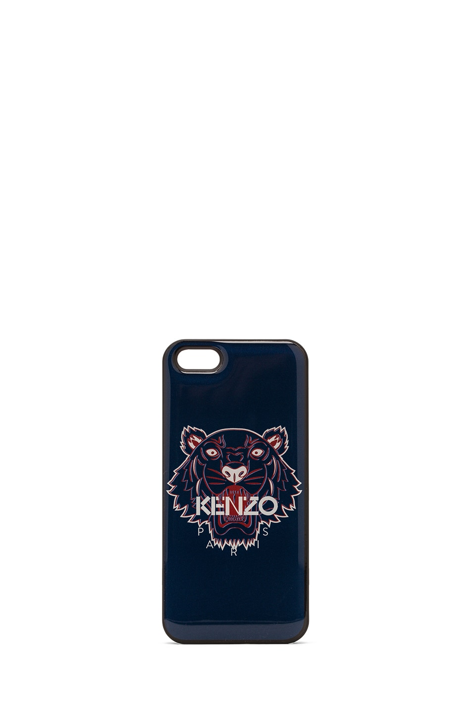 Image 1 of KENZO iPhone 5 Tiger Case in Bleu