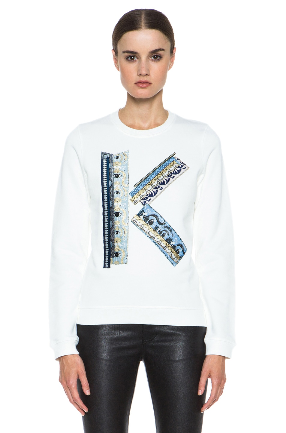 Image 1 of Kenzo K Sweatshirt in White