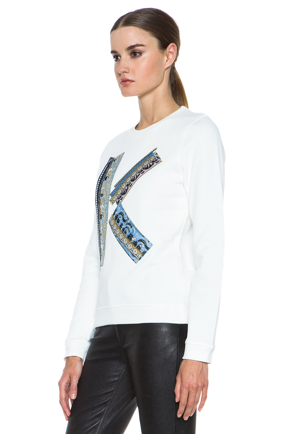 Image 2 of Kenzo K Sweatshirt in White