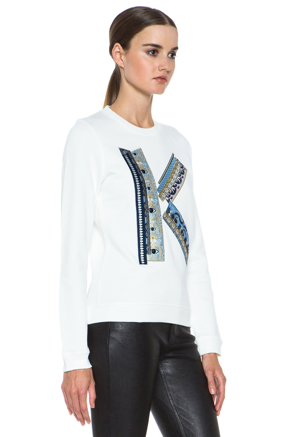 Image 3 of Kenzo K Sweatshirt in White