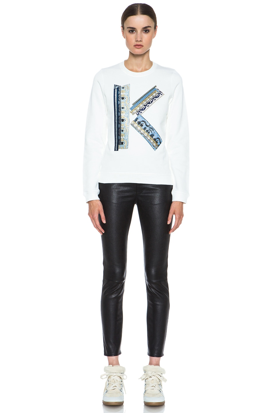 Image 5 of Kenzo K Sweatshirt in White