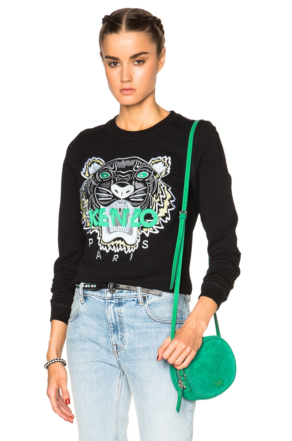 kenzo tiger jumper womens green sale   OFF56% Discounts 7c57886cfc