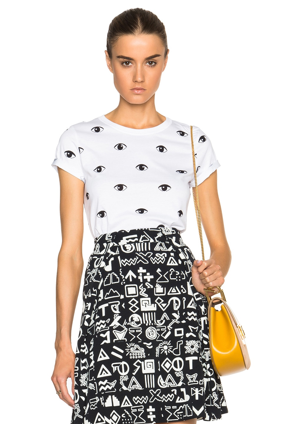 Image 1 of KENZO All Over Eye Tee in White