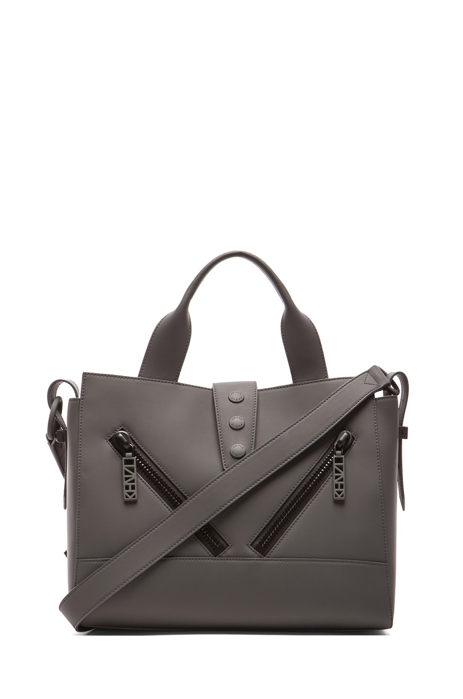 07ab146f8c Image 1 of Kenzo Medium Kalifornia Bag in Anthracite