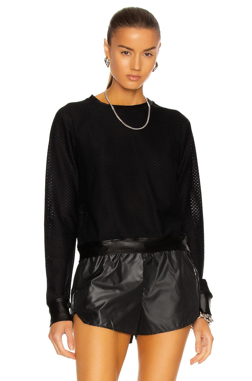 Image 1 of KORAL Sofia Netz Pullover in Black