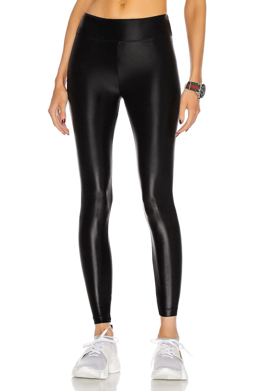 Image 1 of KORAL Lustrous High Rise Legging in Black