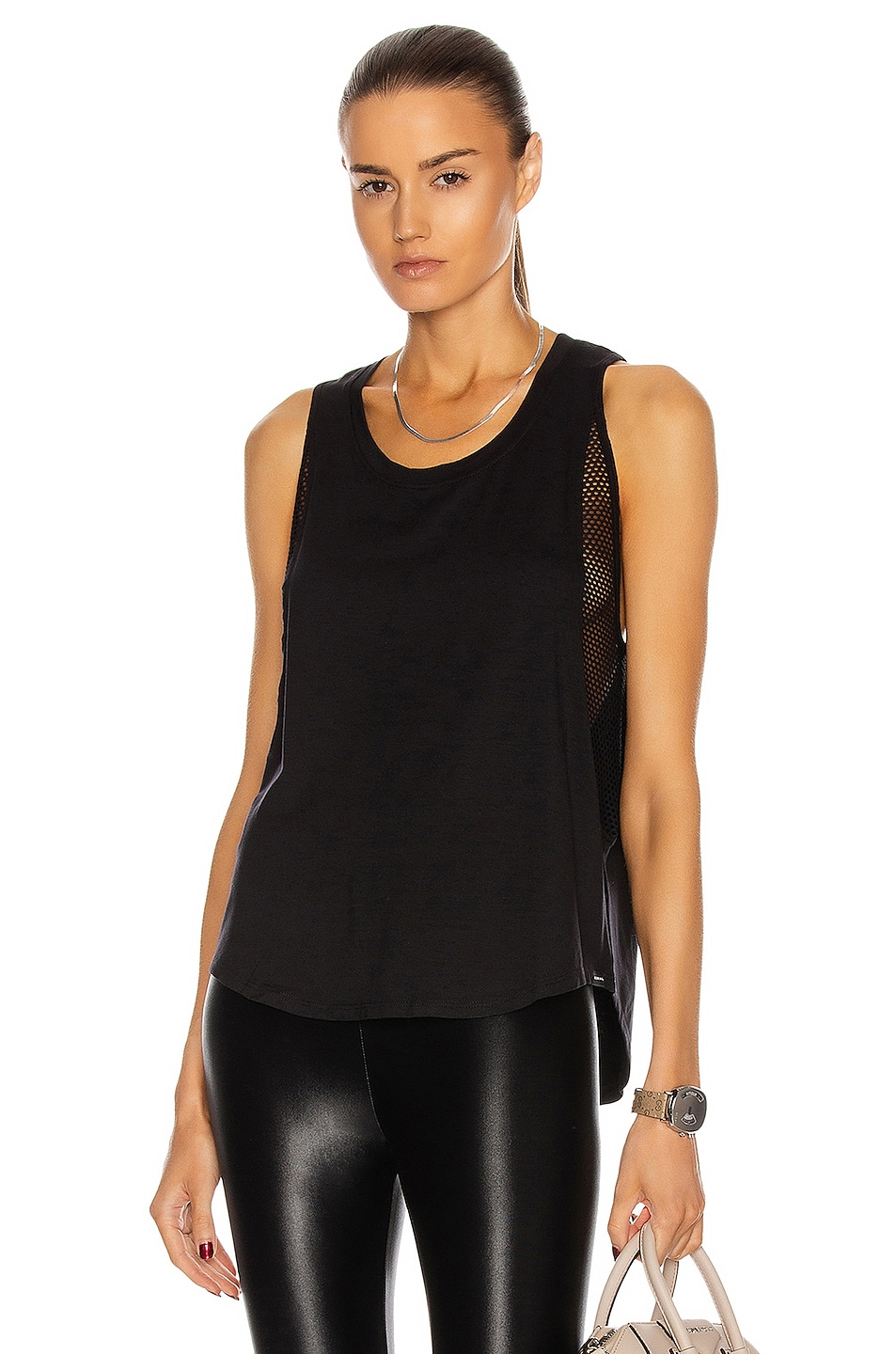 Image 1 of KORAL Adriana Brisa Tank in Black