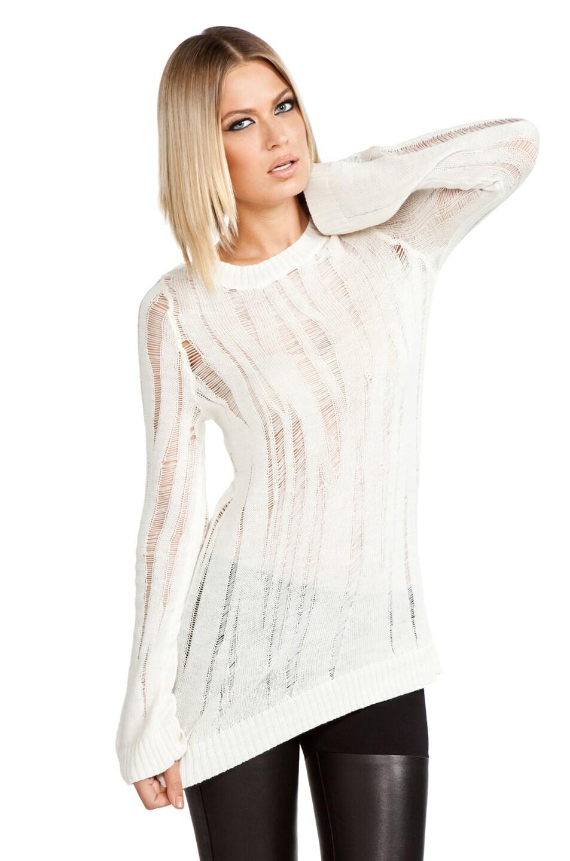 Image 1 of Kimberly Ovitz Edison Sweater in Albino
