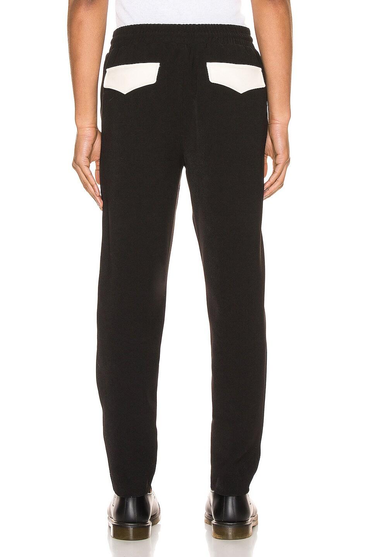 Image 3 of Keiser Clark Western Detective Suit Pants in Black & White