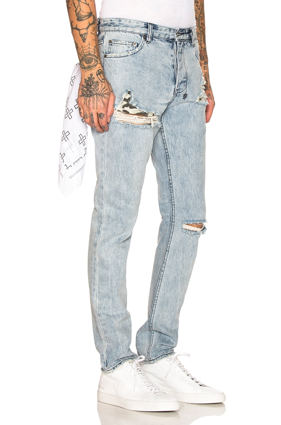 Ksubi Jeans Chitch Exposed Camo Jean