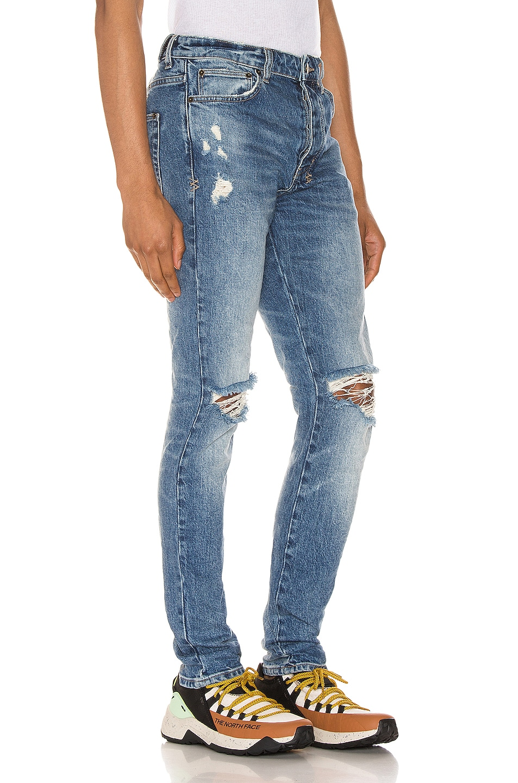 Image 2 of Ksubi Chitch Nostalgia Trashed Jean in Denim