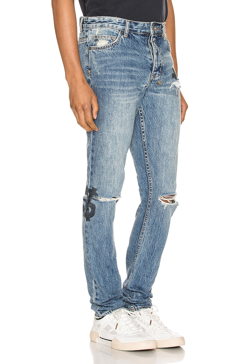 Image 2 of Ksubi Chitch Jinx Pay Up in Denim