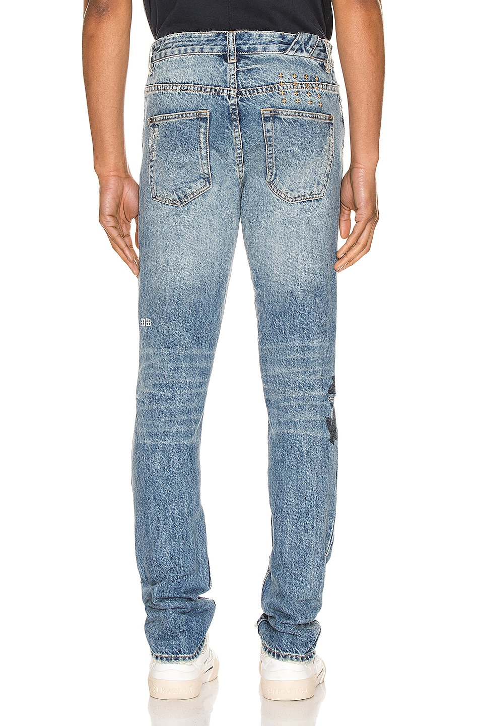 Image 4 of Ksubi Chitch Jinx Pay Up in Denim