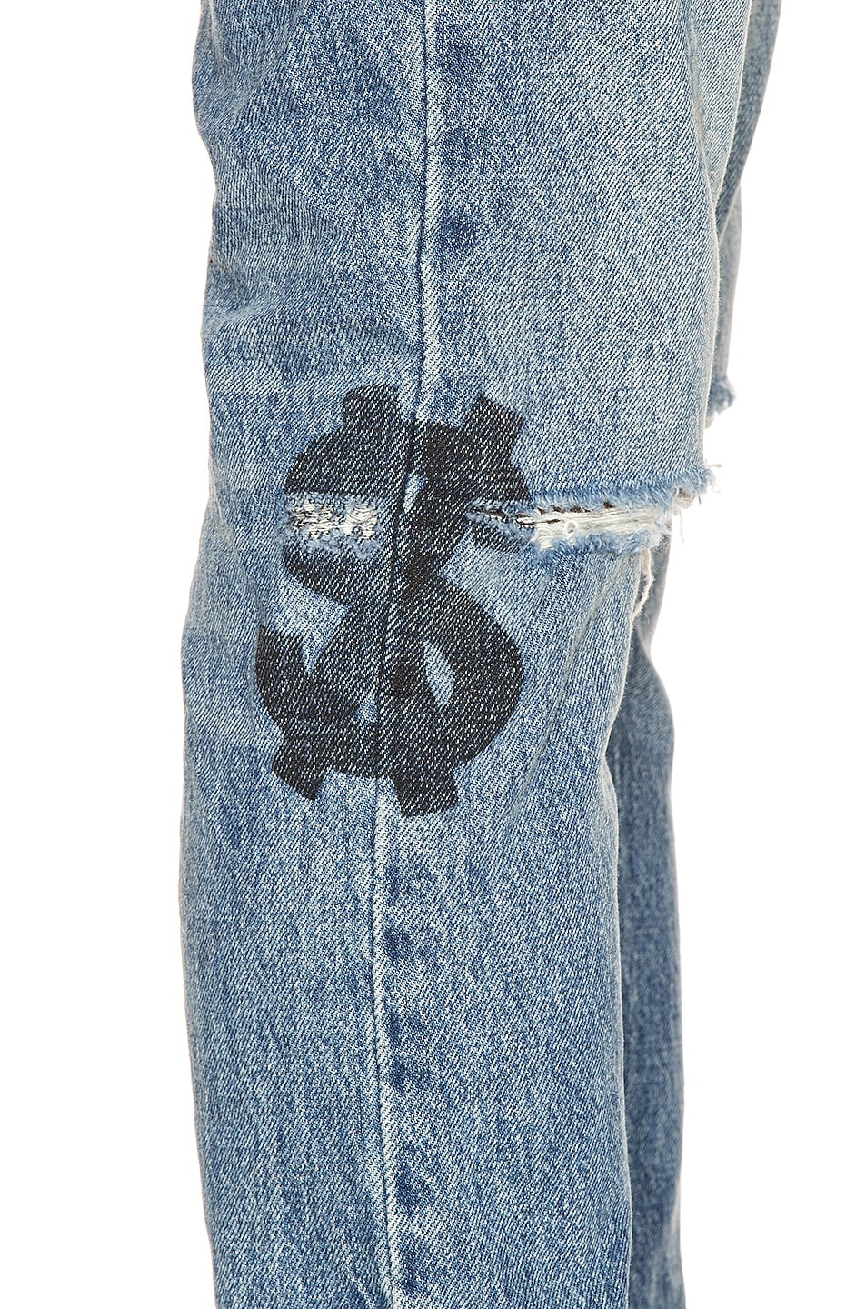 Image 6 of Ksubi Chitch Jinx Pay Up in Denim