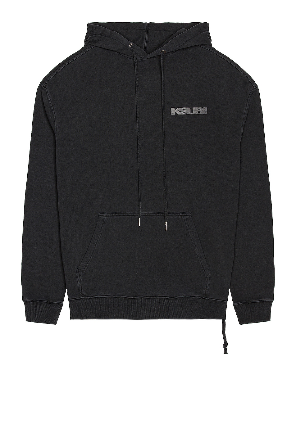 Image 1 of Ksubi Sign of the Times Hoodie in Black