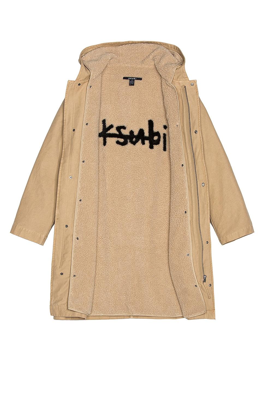 Image 7 of Ksubi Chaos Coat in Tan