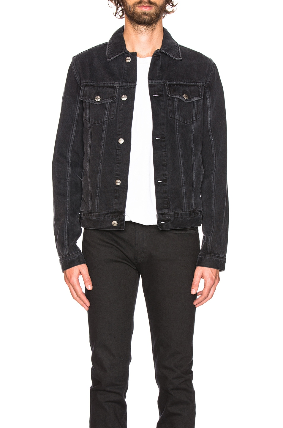 Image 1 of Ksubi Classic Jacket in Sketchy Black