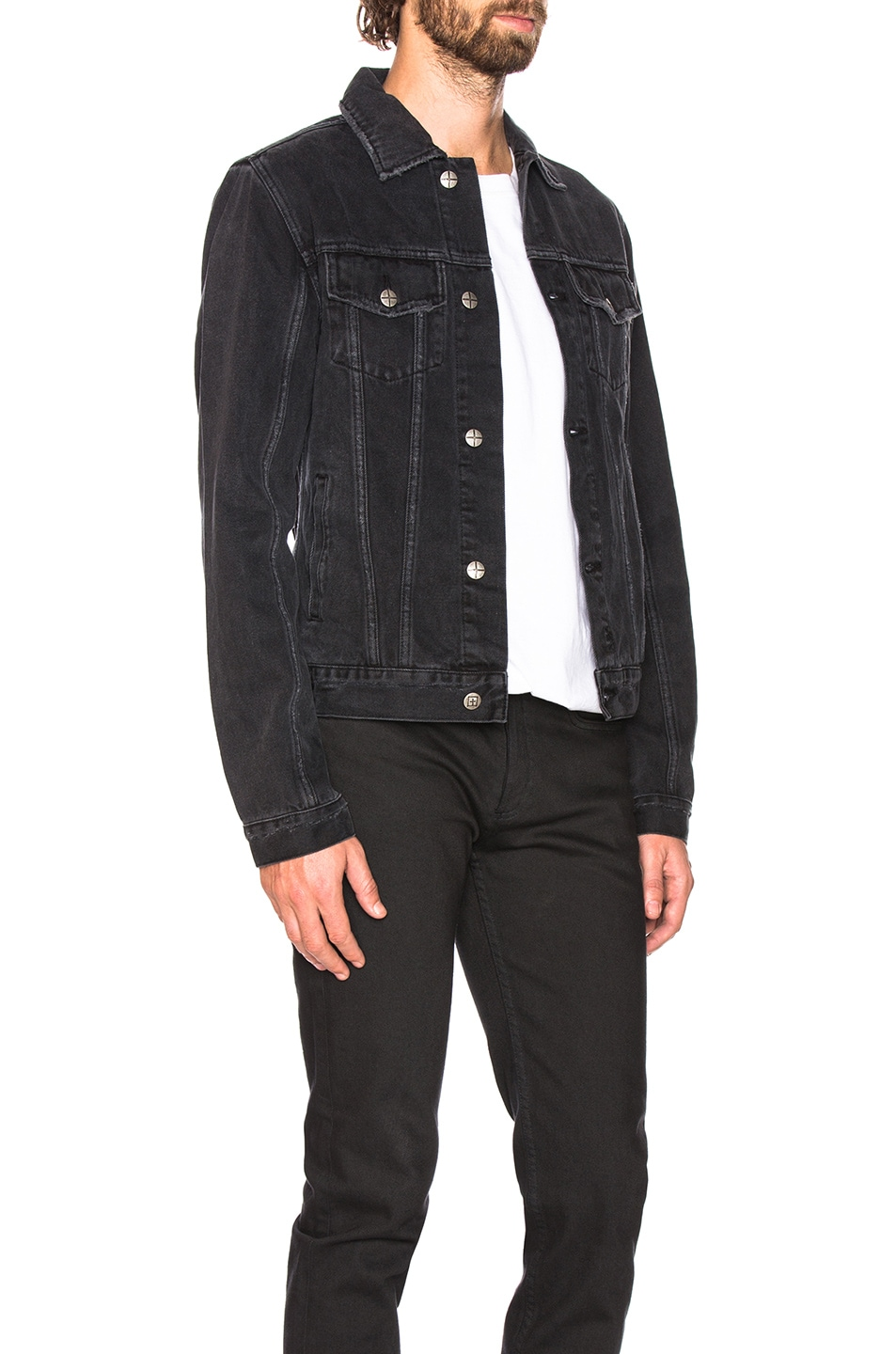 Image 2 of Ksubi Classic Jacket in Sketchy Black