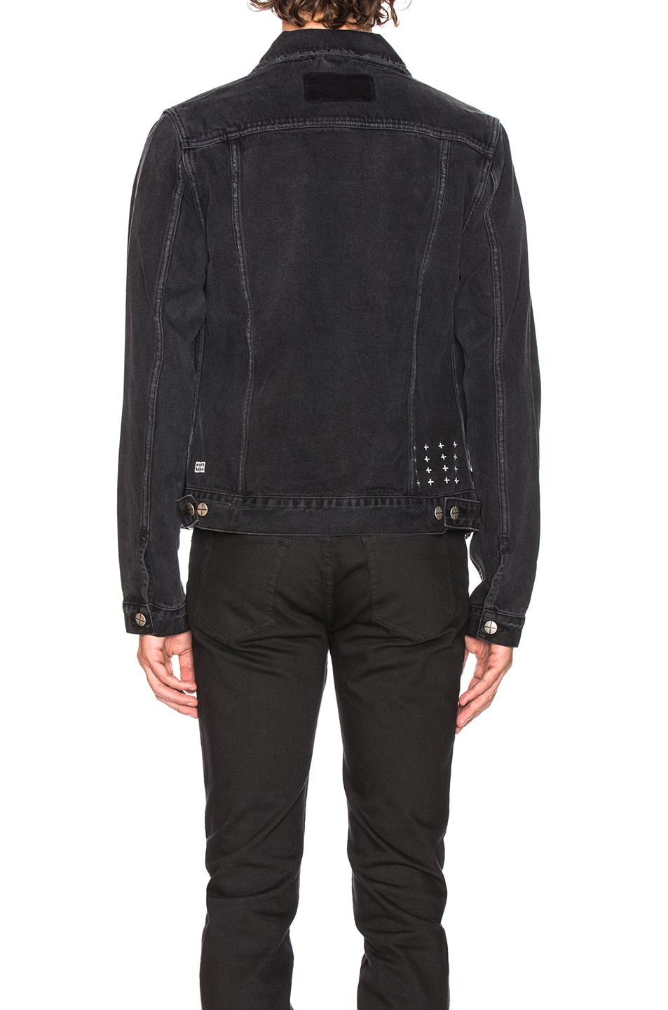 Image 3 of Ksubi Classic Jacket in Sketchy Black