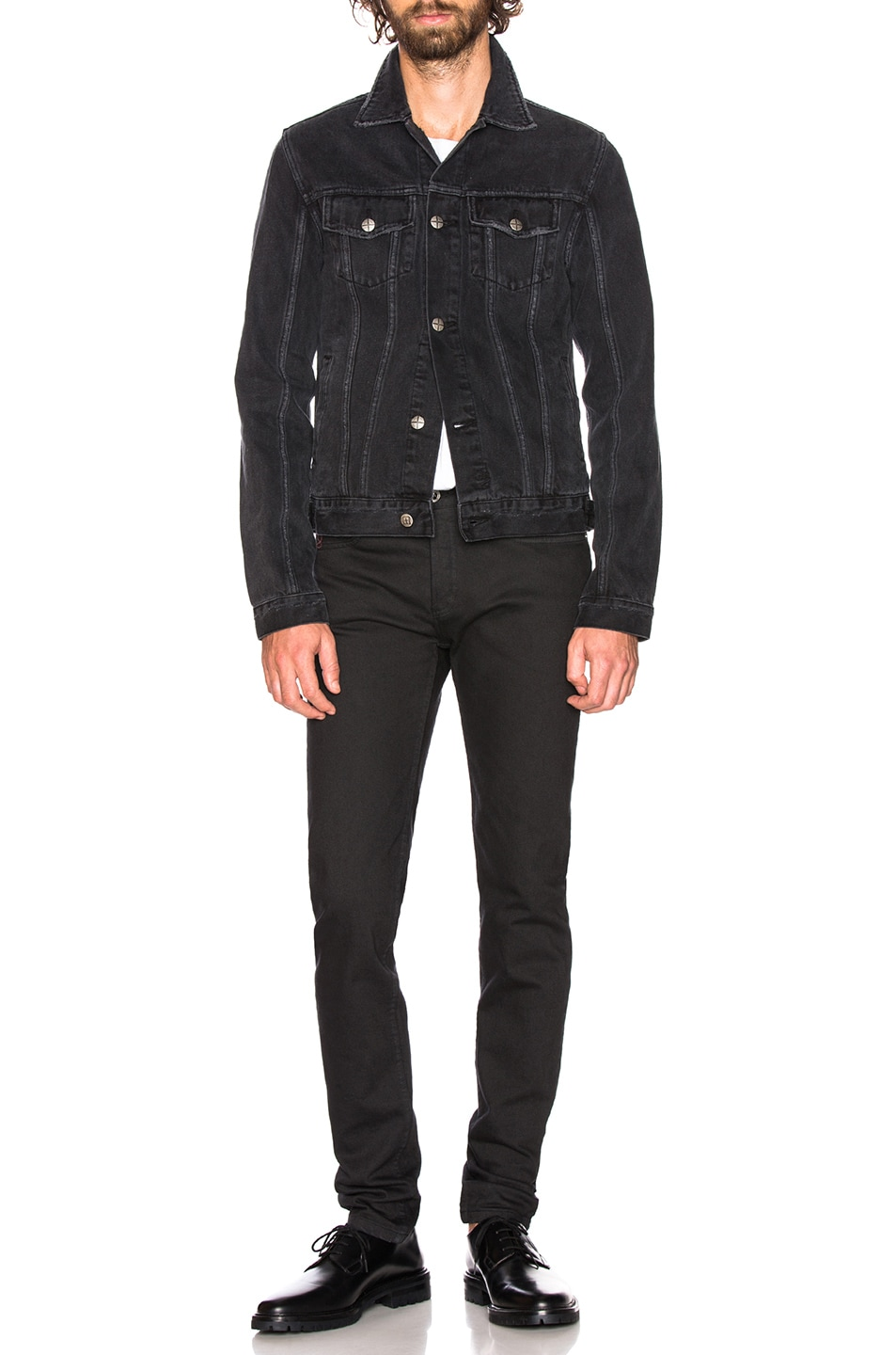 Image 4 of Ksubi Classic Jacket in Sketchy Black