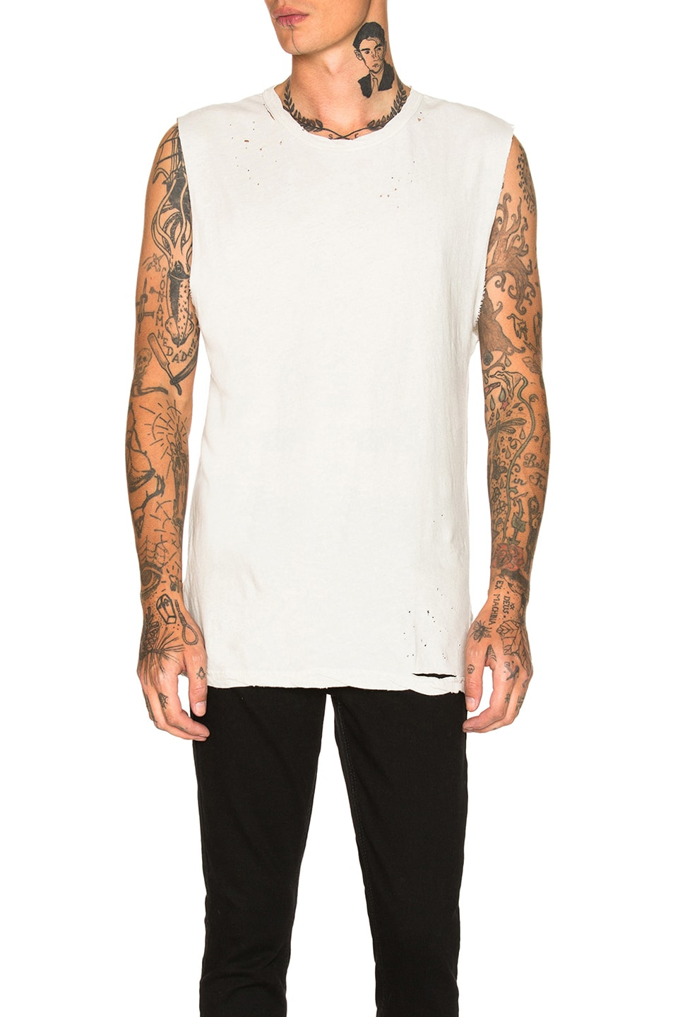 Image 1 of Ksubi Utica Chalk Tee in Off White