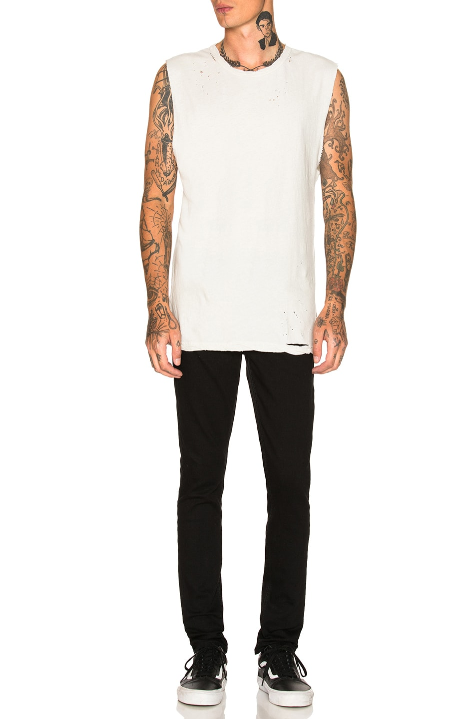 Image 5 of Ksubi Utica Chalk Tee in Off White