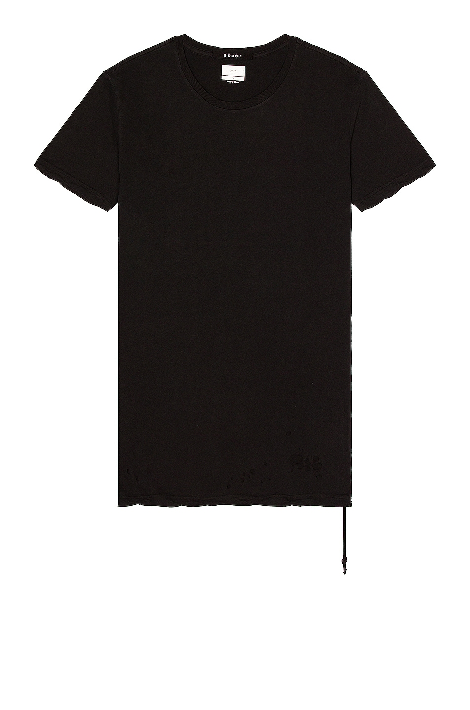 Image 1 of Ksubi Sioux Tee in Black
