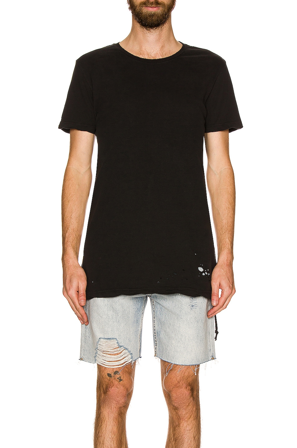 Image 3 of Ksubi Sioux Tee in Black